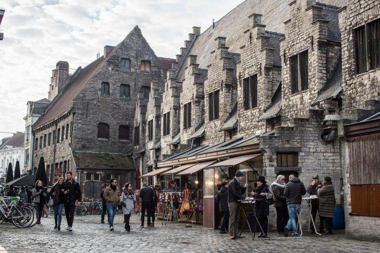 Groentenmarkt Gent (© Cidade Gent - Dienst Toerisme)