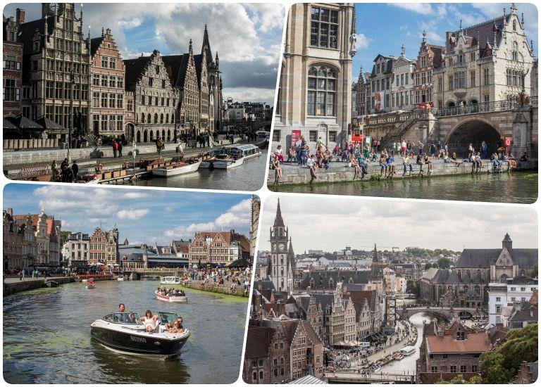 Graslei e Korenlei Gent (© Stad Gent - Dienst Toerisme)