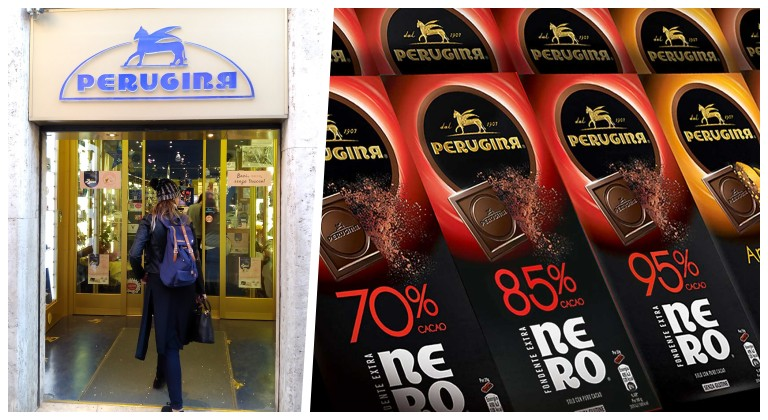Loja de chocolates Perugina