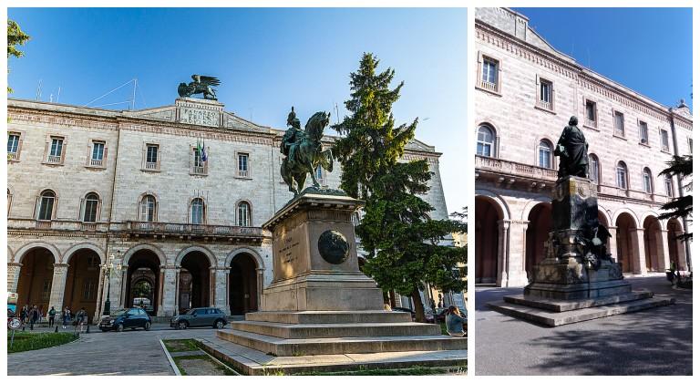 Piazza Italia em Perugia