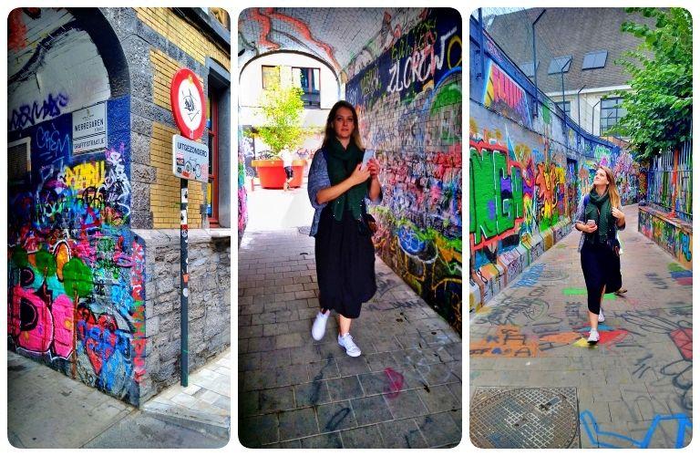 Werregarenstraatje - Rua dos Grafites