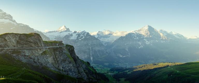 Grindelwald First: uma das principais atrações de Grindelwald