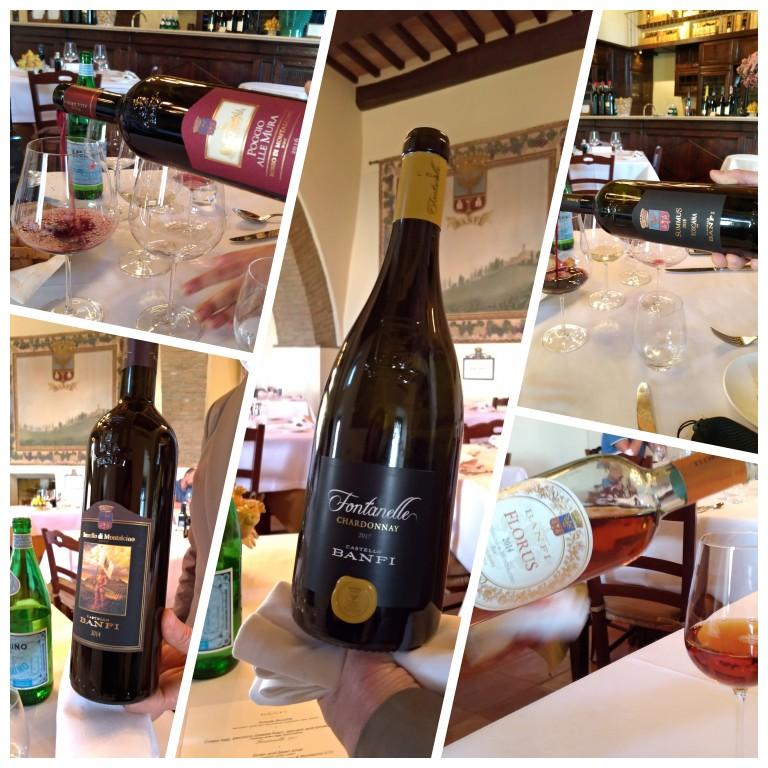 Alguns dos vinhos do menu harmonizado