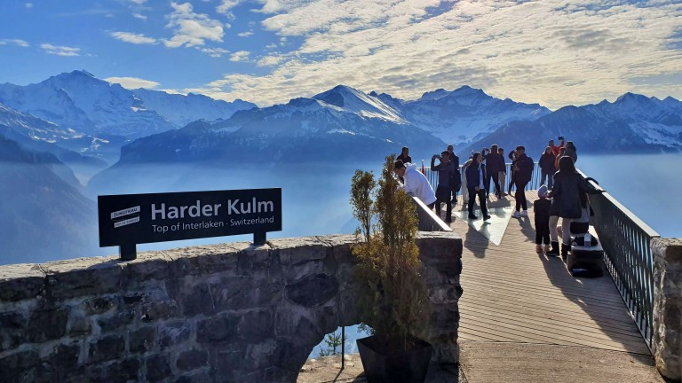 Harder Kulm, em Interlaken