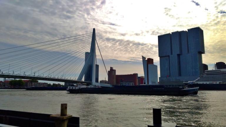 Erasmusbrug e Kop Van Zuid