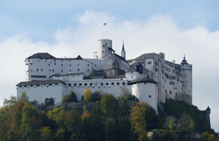 Festung Hohensalzburg: a Fortaleza de Salzburg