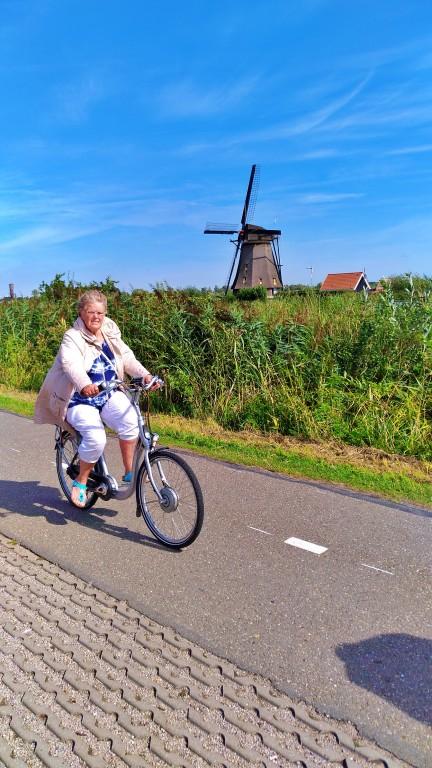 Kinderdijk: ciclovia