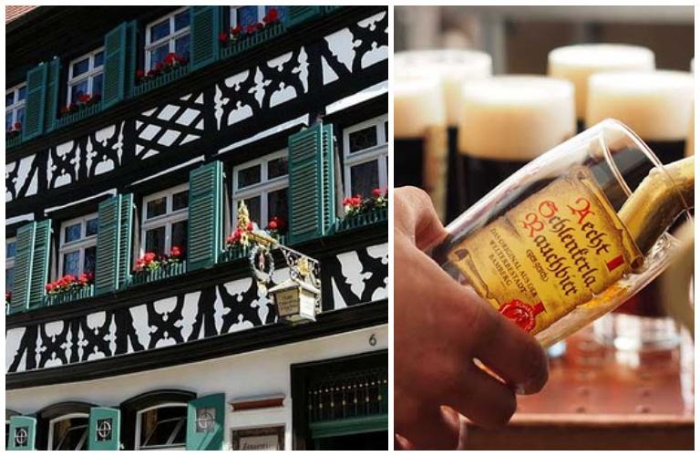 Schlenkerla, die historische Rauchbierbrauerei: cervejaria e restaurante