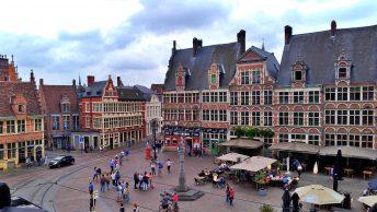 O que fazer em Gent: praça Sint-Veerleplein