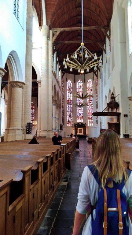 Oude Kerk - ambiente interno