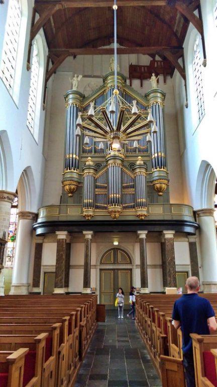 Oude Kerk - famoso órgão
