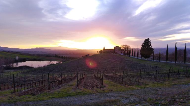 Agriturismo na Toscana