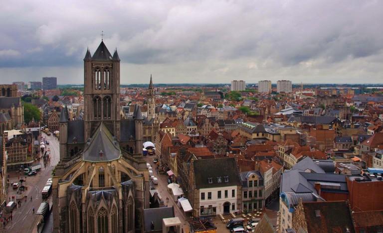 O que fazer em Gent: vista do Campanário (Belfort)