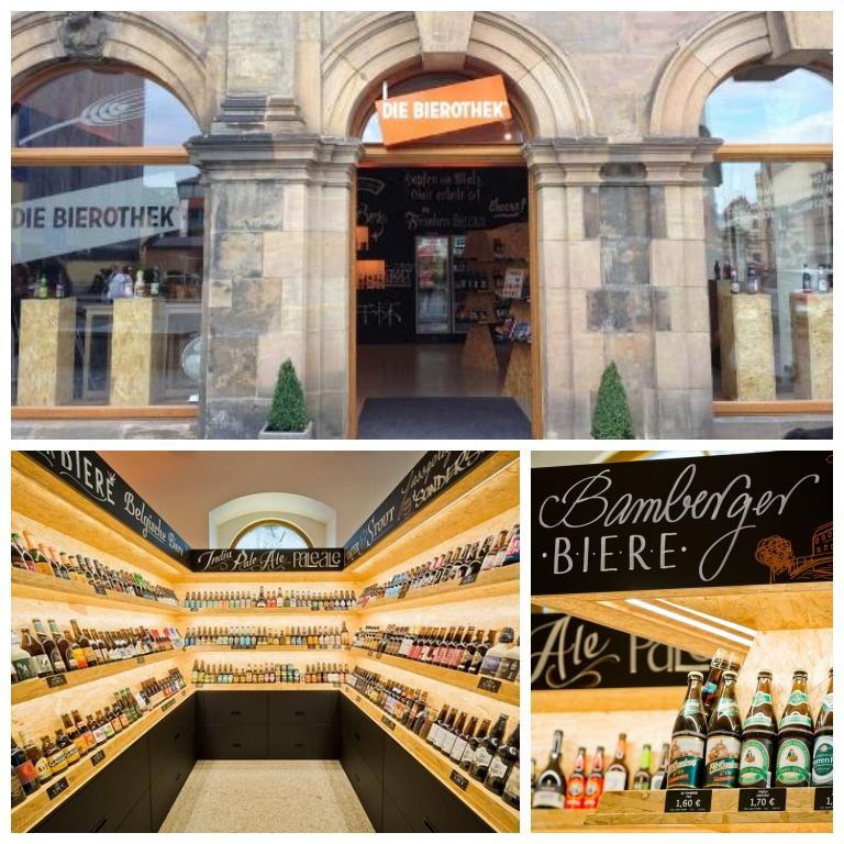 Die Bierothek em Bamberg