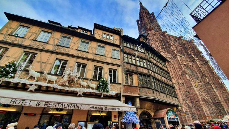 Maison Kammerzell: edifício medieval na praça da Catedral de Estrasburgo