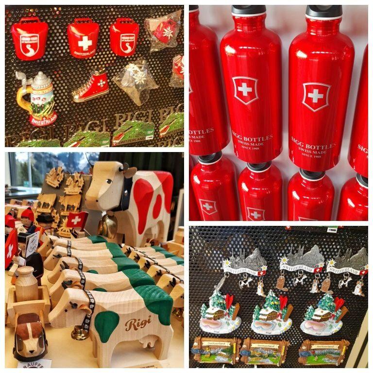 Souvenirs e produtos da marca Rigi