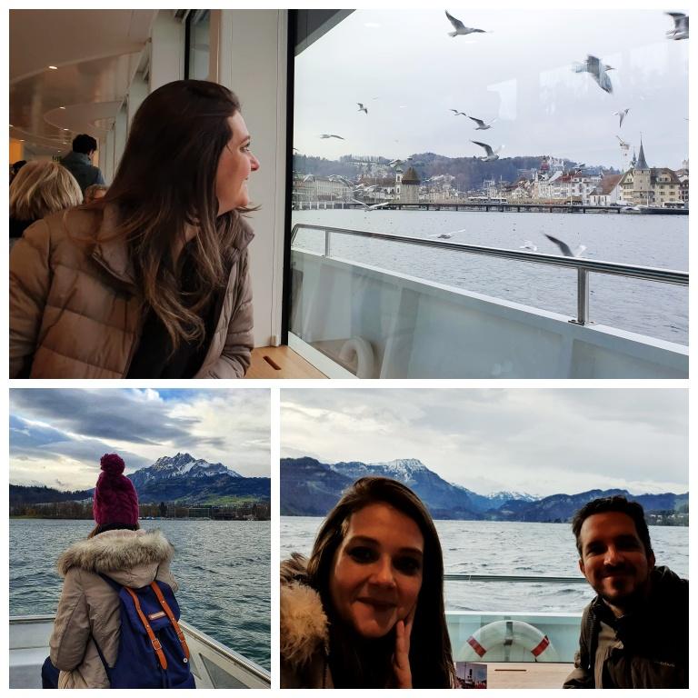 Cruzeiro panorâmico de barco de Lucerna a Vitznau