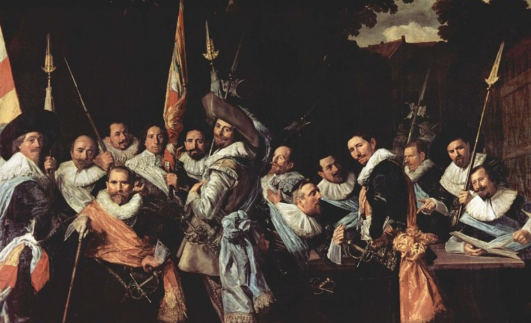 The Officers of the St Adrian Militia Company in 1633