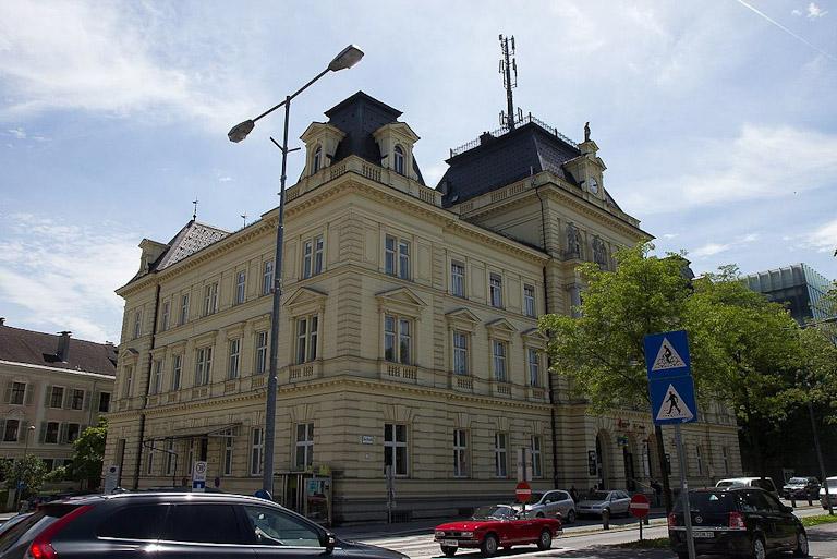 Hauptpostamt Bregenz - antigo prédio do correio de Bregenz
