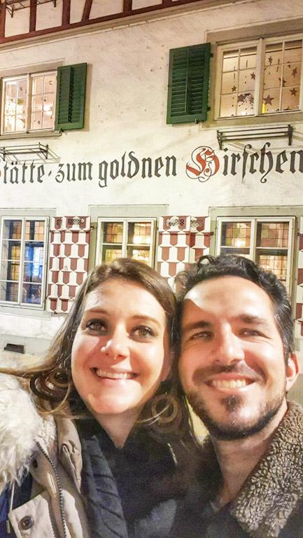 Gasthaus Goldener Hirschen: fachada