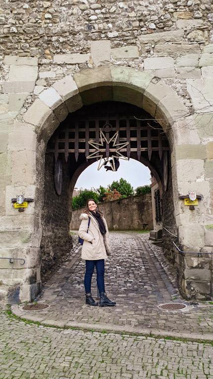 Portão de entrada da Cidade Alta de Bregenz
