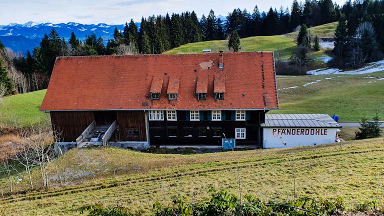 Pfänderdohle: restaurante que fica aberto o ano todo