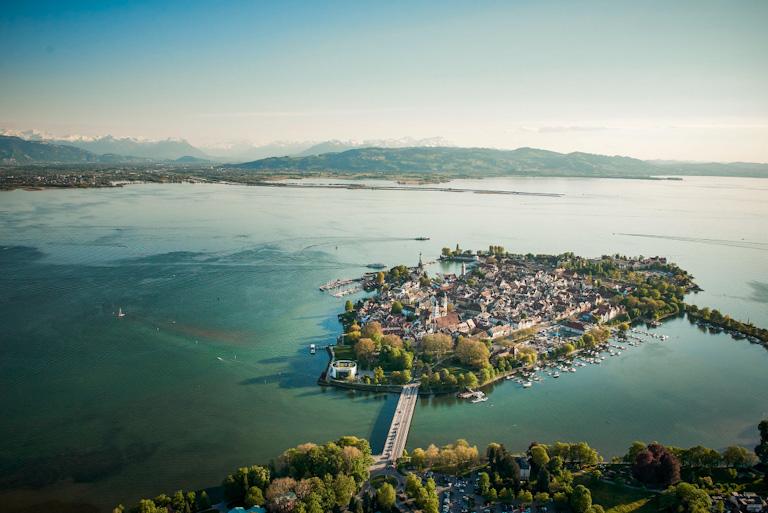 Vista aérea de Lindau | Foto: © Hari Pulko | Lindau Tourismus