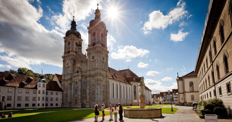Catedral de St.Gallen | St.Gallen Stiftsbezirk | Foto: ©www.myswitzerland.com