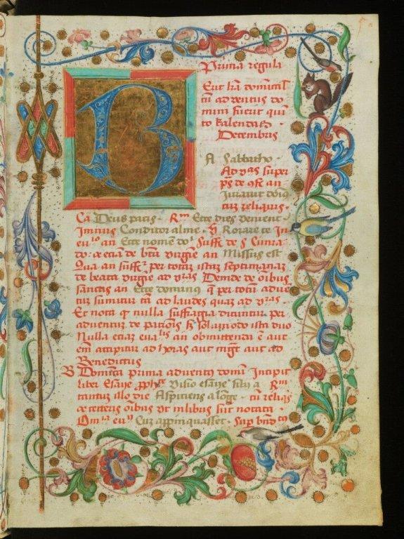 Manuscrito colorido