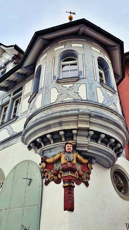 Sacadas das casas burguesas antigas