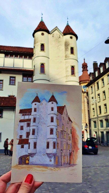 """Schlössli , ou """"pequeno castelo"""""""