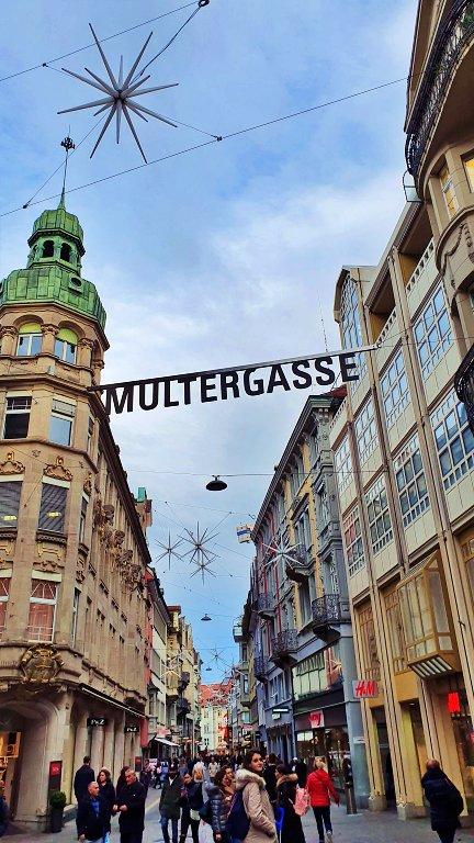 Multergasse | Rua de compras de St. Gallen