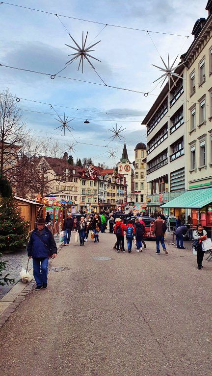 Rua do mercado - Marktgasse St Gallen