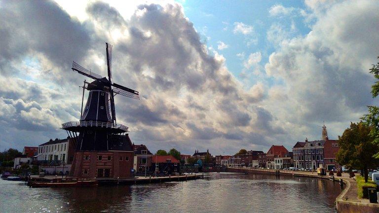 Moinho em Haarlem: Molen De Adriaan