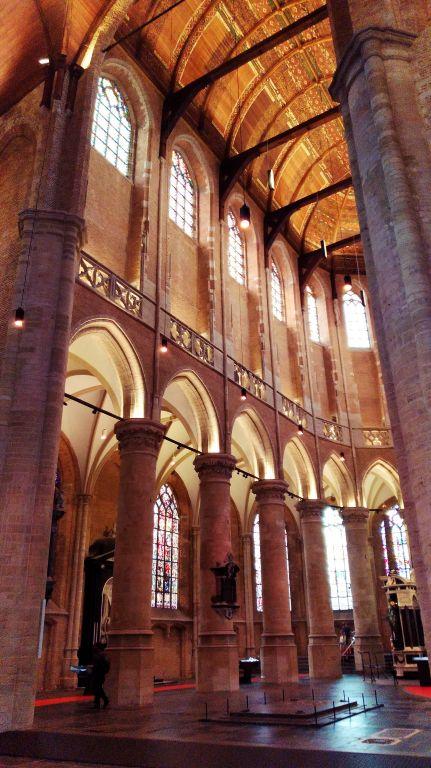 Nieuwe Kerk: ambiente interno