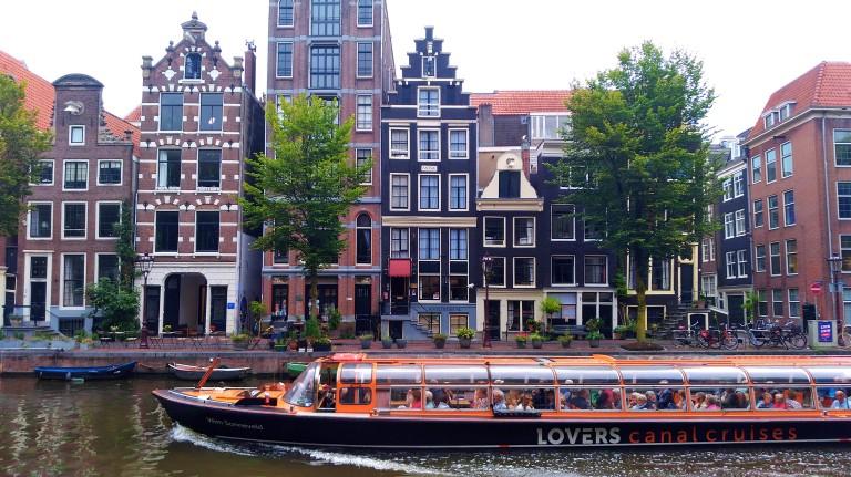I Amsterdam City Card: Passeio de barco pelos canais de Amsterdã (Canal Cruise Ticket)