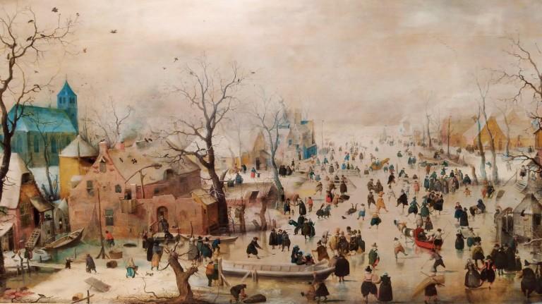 Paisatge Hivernal - Hendrick Avercamp (1608)