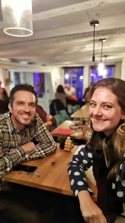 Le Cercle des Aromes: felizes após a experiência com os vinhos da Alsácia
