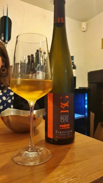 Bott-Geyl Pinot Gris Furstentum Grand Cru (2010)