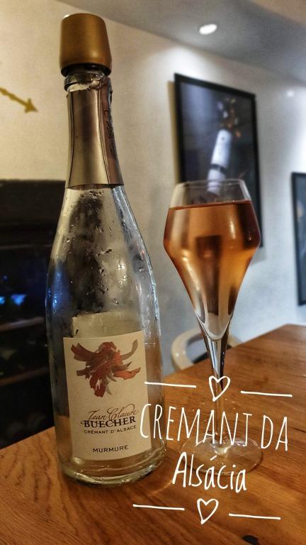 Crémant D'Alsace Jean Claude Buecher (rosé)