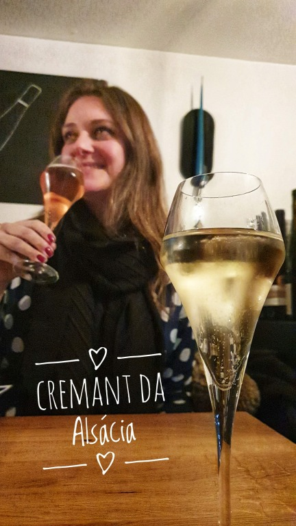 Degustando o Crémant D'Alsace Jean Claude Buecher