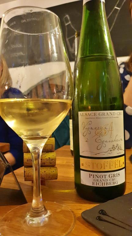Stentz-Buecher e o Pinot Gris Grand Cru Eichberg da vinícola A. Stoffel