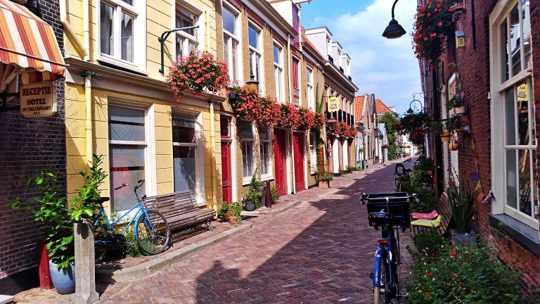 Trompetstraat: a rua das casas coloridas
