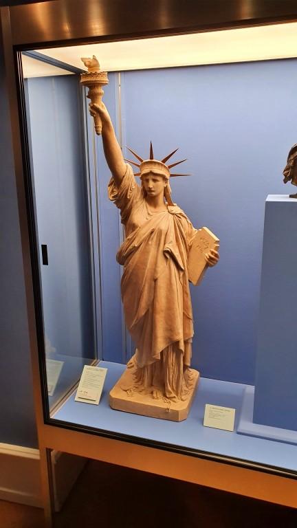 Musée Bartholdi: exposição com modelos e detalhes sobre a construção da Estátua da Liberdade