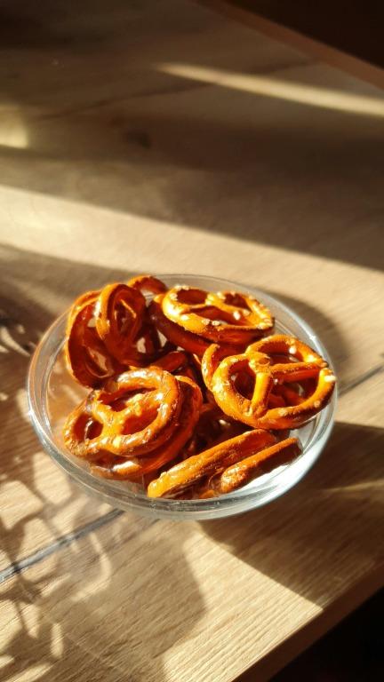 Restaurant Meistermann: porção de mini-pretzels