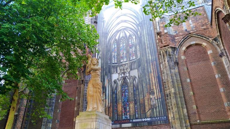 Domkerk - A catedral gótica de S. Martinho