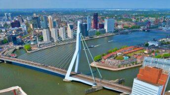 Eramusbrug ©Rotterdam-Tourism-Information