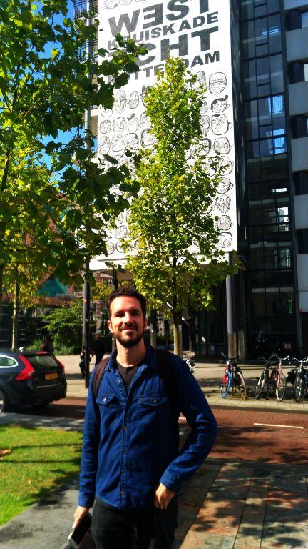 Kruisplein em frente a Centraal Rotterdam