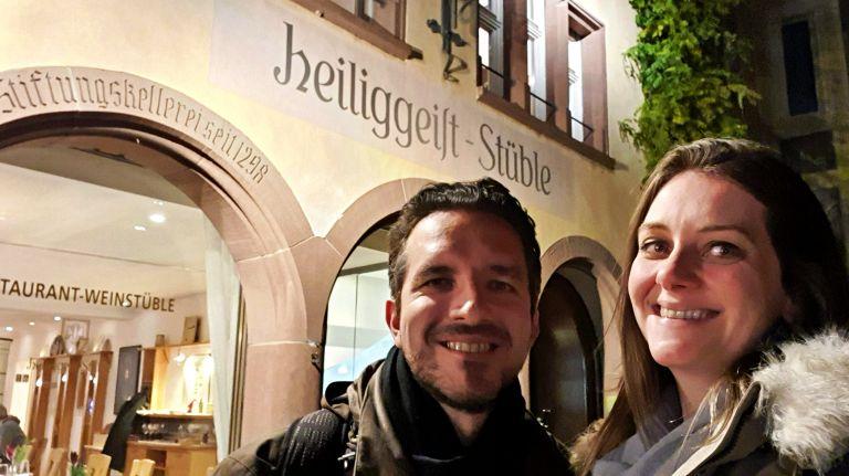 Heiliggeist Stüble am Münster | Onde comer em Freiburg