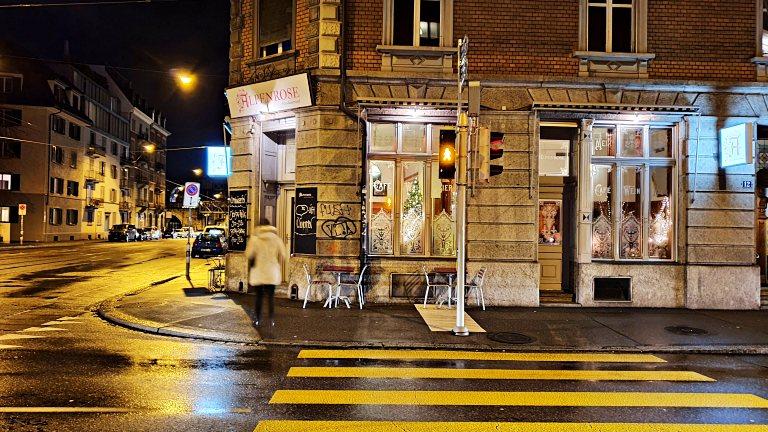 Fachada do Restaurant Alpenrose | Onde comer em Zurique